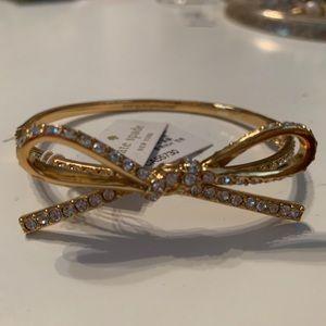 NWT Kate Spade Bow Bracelet